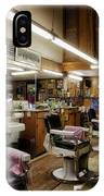 Barber Shop In Montgomery Alabama IPhone Case