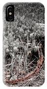 Barbwire Wreath 1 IPhone Case