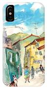 Barca De Alva Houses 01 IPhone Case