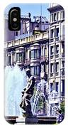 Barcelona Fountain IPhone Case