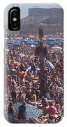 Barcelonetta Beach IPhone Case