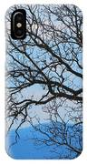Bare Tree Against Blue Sky IPhone Case