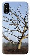 Bare Tree In Forest IPhone Case