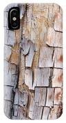 Bark On A Tree In The Desert In Sedona IPhone Case