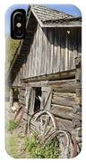 Barn And Wagon Wheels IPhone Case