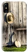 Barn Door And Banjo Mandolin IPhone Case