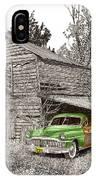 Barn Finds Classic Cars IPhone Case