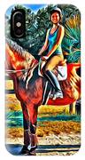 Barn Horse Two IPhone Case
