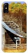 Barn In Fall IPhone Case
