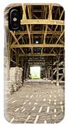 Barn Interior IPhone Case