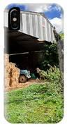 Barn On Small Farm IPhone Case