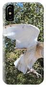 Barn Owl 2 IPhone Case