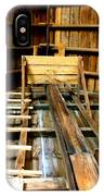 Barn Rafters 2 IPhone Case