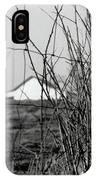 Barn Through Fence IPhone Case