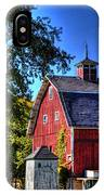 Barn With Out-sheds Brunner Family Farm IPhone Case