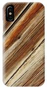 Barn Wood Detail IPhone Case