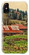 Barns On A Farm IPhone Case