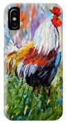 Barnyard Rooster IPhone X Case