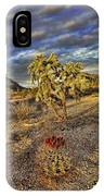 Barrel And Cholla IPhone Case