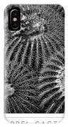 Barrel Cactus Poster IPhone Case