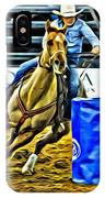 Barreling Buckskin IPhone Case
