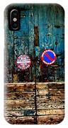 Barrieres Madeleine Albi France IPhone Case
