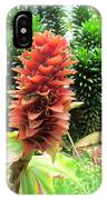 Barriles Ginger IPhone Case