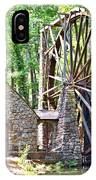 Berry College's Old Mill - Square IPhone Case