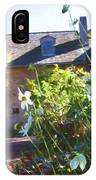 Bartram White Flowers IPhone Case