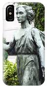 Barzaghi Memorial Side View II Detail Monumental Cemetery IPhone Case