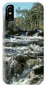 Base Of Ragged Falls IPhone Case