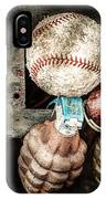 Baseball And Hand Grenades IPhone Case