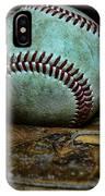 Baseball Broken In IPhone Case