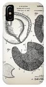Baseball Glove Patent IPhone Case