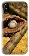 Baseball Home Plate IPhone Case