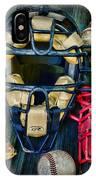 Baseball Vintage Gear IPhone Case