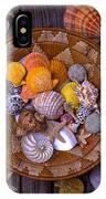 Basket Full Of Seashells IPhone Case