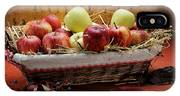 Basket Of Apples IPhone Case