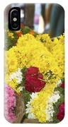 Basket Of Flowers IPhone Case
