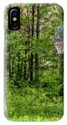 Basketball Forest Court IPhone Case