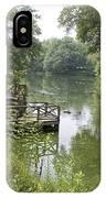 Bass Pond Biltmore Estate IPhone Case