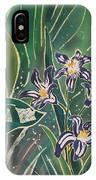 Batik Detail - Pushkinia IPhone Case