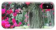 Baton Rouge Louisiana Crepe Myrtle And Moss At Capitol Park IPhone Case