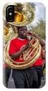 Battered Tuba Blues IPhone Case