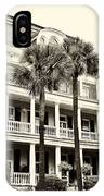 Battery Carriage House Inn IPhone Case