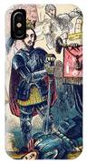 Battle Of Bosworth, Henry Vii Crowning IPhone Case