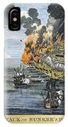 Battle Of Bunker Hill, 1775 IPhone Case