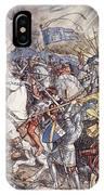 Battle Of Fornovo, Illustration IPhone Case