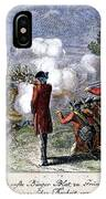Battle Of Lexington IPhone Case