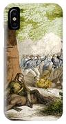 Battle Of Oriskany, 1777 IPhone Case
